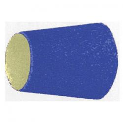 Tela abrasiva a coni in zirco-corindone - GRANA 80 - altezza 30 mm - Ø sup e inf. 22/29