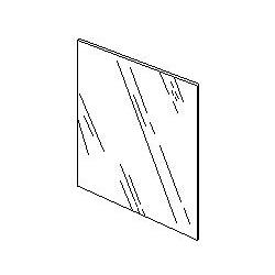 113x114 mm - Lente esterna per maschera da saldatura