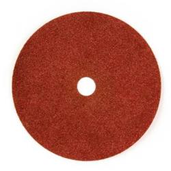 115x22 - GRANA 120 - Dischi abrasivi flessibili su fibra in CARBURO DI SILICIO