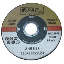 125X1,0X22 - Dischi PAF FERRO