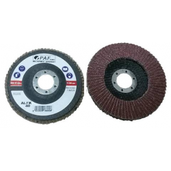125x22 - GRANA 100 - Dischi PAF lamellari CORINDONE