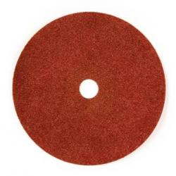 125x22 - GRANA 120 - Dischi abrasivi flessibili su fibra in ZIRCONIO