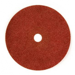 125x22 - GRANA 24 - Dischi abrasivi flessibili su fibra in ZIRCONIO