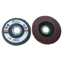125x22 - GRANA 50 - Dischi PAF lamellari CORINDONE
