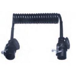 Cavo spiralato per ABS con spine 5 poli - 24 V