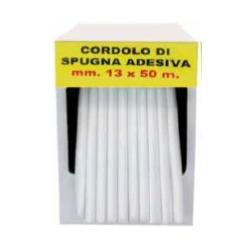 Cordolo in spugna adesiva - mm 19x35 m