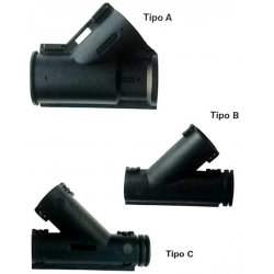 Derivazione per tubo corrugato a Y - Tipo: B