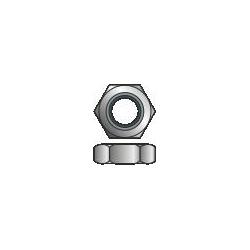 DIN 934 - Dado esagonale Acc. Inox A2-70 - M10/17