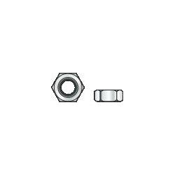 DIN 934 - Dado esagonale di classe 6, zincato - M10/17