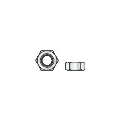 DIN 934 - Dado esagonale di classe 6, zincato - M16/24