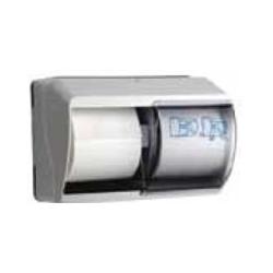 Distributore di carta igienica doppio rotolo