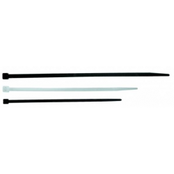 Fascetta per cablaggio in plastica bianca - 130x2,6