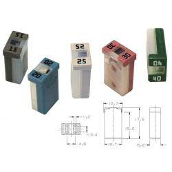 Fusibile micro case 25 AMP