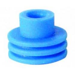 Guarnizione passacavo azzurra - cavo Ø 3,6-4,5 per fori da 10 mm