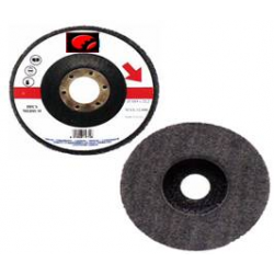 HARD - Dischi PAF in polifibra su supporto rigido in fibra di vetro - FE-INOX