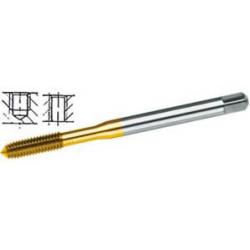 Ø 3 mm - Maschi dx per uso a macchina M-HSS-E-TIN-INOX
