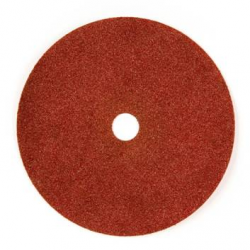 115x22 - GRANA 24 - Dischi abrasivi flessibili su fibra in CORINDONE