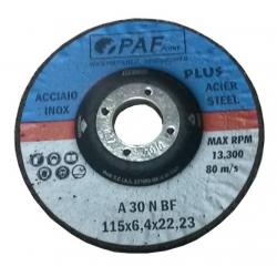 115X6,4X22 - Dischi PAF ACCIAIO INOX GOLD