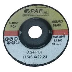 125X6,4X22 - Dischi PAF FERRO