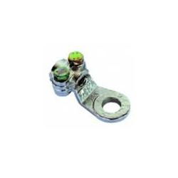 25-35 mmqx10 mm - Capocorda ottone zincato