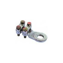 50-75 mmqx10 mm - Capocorda ottone zincato