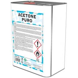 Acetone puro 99,9% - 5 L