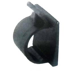 Barretta adesiva con gancio - PICCOLA - 19 x 10 - ø 5