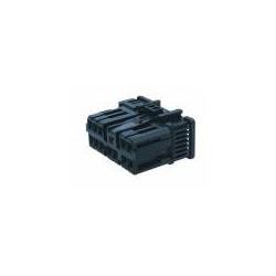Connettore 0,7 II generazione portafemmina - 6 vie nero