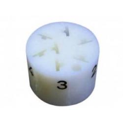 Copriterminale cilindrico per 7 vie