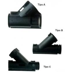 Derivazione per tubo corrugato a Y - Tipo: A