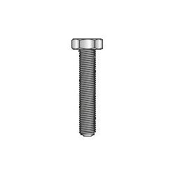 DIN 933 - Vite TE in acciaio Inox A2, classe 70 - M6x100mm