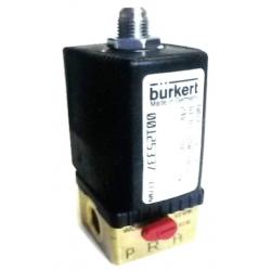 Elettrovalvola Burkert - 24 V N.A. - con comando