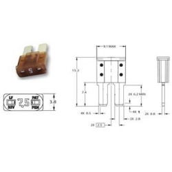 Fusibile Micro2 - 10 A