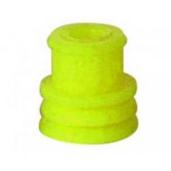 Guarnizione passacavo gialla - cavo Ø 2,5-4,0 per fori da 8 mm