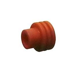Guarnizione passacavo rossa - cavo Ø 6,0-10 per fori da 9,50 mm