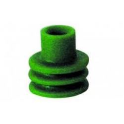 Guarnizione passacavo verde - cavo Ø 2,0-2,8 per fori da 7 mm