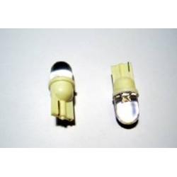 LED - 12V - 01 n. LED - Ø 9 mm - T10 W2,1X9,5d - Bianco - FIRE