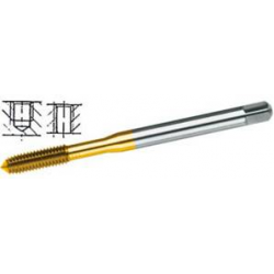Ø 6 mm - Maschi dx per uso a macchina M-HSS-E-TIN-INOX