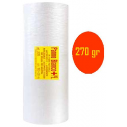 Panno bianco + PE - cm 100x10 m - con esposit. x 12 pz