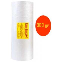 Panno bianco + PE con adesivo - cm 100x10 m