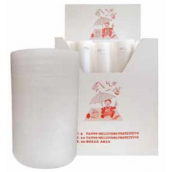 Rotolo bolle d\'aria - 70 gr/mq - cm 100x10 m - con espositore (x 15 pezzi)