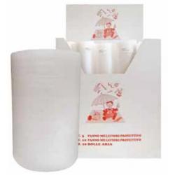 Rotolo bolle d\'aria - 70 gr/mq - cm 50x10 m - con espositore (x 30 pezzi)