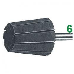 Supporto per coni - attacco Ø 6 mm - altezza 60 mm